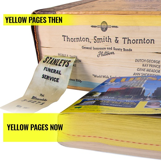 Is Yellow Pages Advertising Still Relevant?