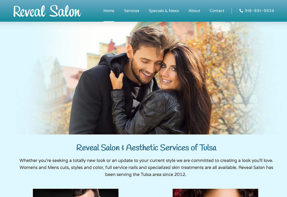 Reveal Salon Gets a New Look