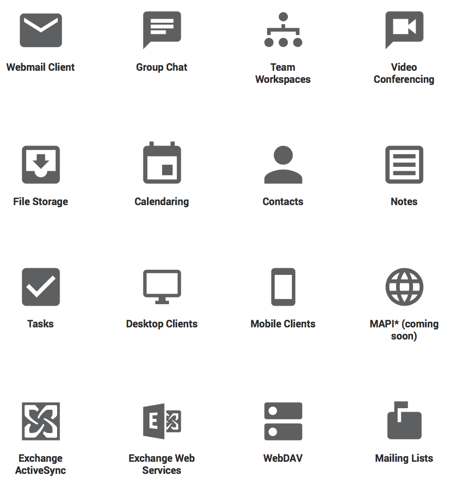 SmarterMail Features