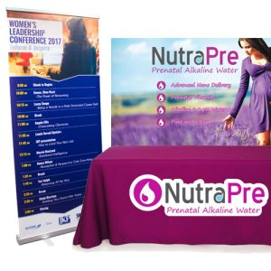 Tradeshow Graphics and promotional print banners